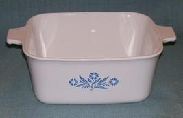 Vintage Corning Ware Blue Cornflower Casserole Baking Dish No Lid P-4-B - $9.95