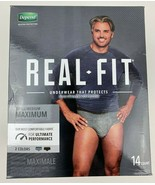 Depend Real Fit Briefs for Men Maximum Absorbency 14 Count S/M (NEW) - $17.12