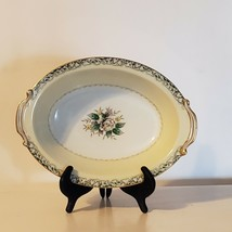 "Vintage Mystery #14 by Noritake Porcelain 10"" Oval Vegetable Bowl Japan - $21.71"