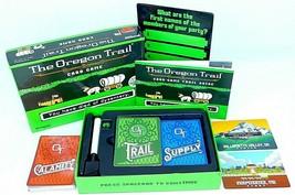 The Oregon Trail Card Game - by Pressman - $27.10