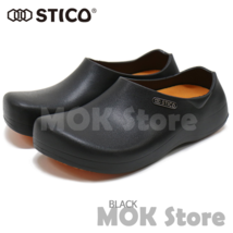 STICO NEC-03 Men Chef Shoes Clog Kitchen Non-Slip Safety Shoes Oil&Water Rubber image 2