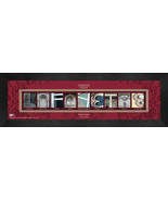 Personalized Lafayette College Campus Letter Art Framed Print - $39.95