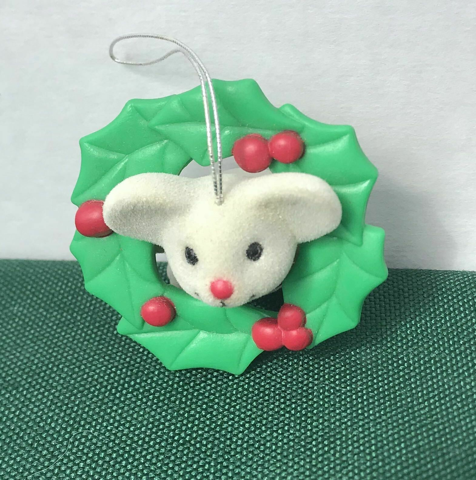 Avon Tree Trimmer Friends Mouse Ornament Vintage