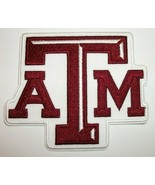 """Texas A & M Aggies~Embroidered PATCH~3 1/2"""" x 3""""~Iron or Sew On~NCAA - $4.95"""
