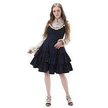 1791's lady Long Sleeves Gothic Lolita Dress Rococo Victorian Vintage Dress - £65.42 GBP