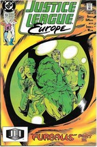 Justice League Europe Comic Book #13 DC Comics 1990 VERY FINE/NEAR MINT ... - $2.75