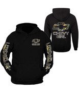 DURAMAX CHEVROLET CAMO CHEVY GIRL Chest and Arm Hoodie Sweatshirt FRONT & BACK - $39.99