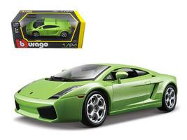 Lamborghini Gallardo Green 1/24 Diecast Car Model by Bburago - $33.00