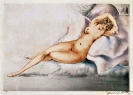 Louis ICart Art Deco Nude lady naked woman sexy nudity  5 x 7 photo print - $1.98