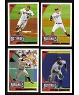 2010 Topps Washington NATIONALS Team Set Both Series 1 & 2 (22 cards) - $2.00
