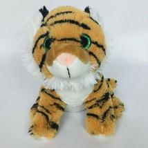 "Toys R Us Orange White Striped Tiger Plush Stuffed Animal 2014 7.5""  - $33.06"