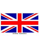 Laminated Union Jack Flag vinyl car decal sticker 240mm x 138mm Britain ... - $12.46