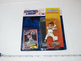 1994 Starting Lineup J.T. Snow CA Angels action figure Kenner MLB card NOS - $10.68