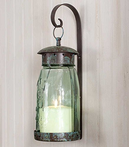 Private Label Vintage Style Decorative Wall Sconce Hanging Candle Lantern