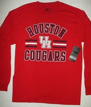 UNIVERSITY HOUSTON COUGARS Russell NCAA College Long Sleeve T-shirt M (3... - €8,78 EUR