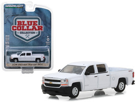 2018 Chevrolet Silverado 1500 Pickup Truck White Blue Collar Collection ... - $13.18