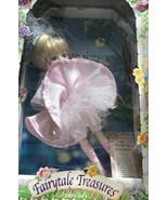 Brass Key~ Fairytale Treasures Swan Lake Ballerina Porcelain Doll~ New i... - $14.85