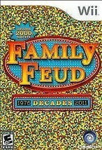 Family Feud: Decades (Nintendo Wii, 2010) Tested And Fast Shipping!! - $9.74