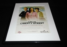 Life on Liberty Street 2004 Hallmark Framed 11x14 ORIGINAL Advertisement - $32.36