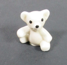 Miniature Teddy Bear Bug House White China Made in Japan - $6.76