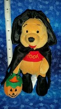 Halloween Winnie the Pooh Bean Bag Plush Witch Pooh 8 inches - $49.49
