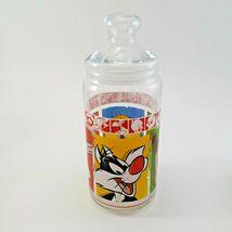1999 Warner Brothers Looney Tunes Merrie Medleys Glass Cookie Jar image 3