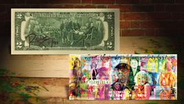 PLAYBOY Hugh Hefner OFFICIAL $2 U.S. Bill SIGNED by RENCY Numbered of 91... - $36.47
