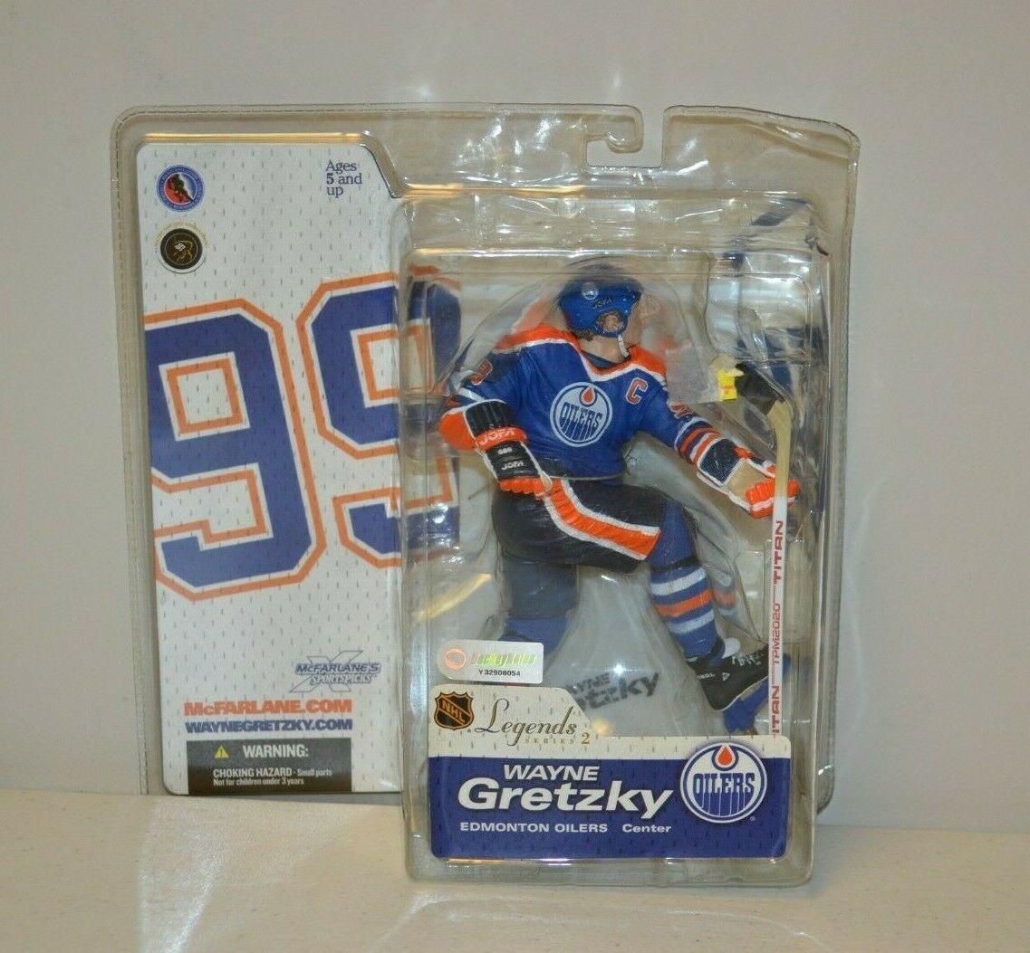 2005 McFarlane NHL Legends Series 2 Wayne Gretzky #99 Edmonton Oilers Figure