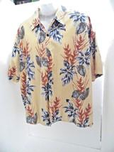 a0db8f9d1 mens shirt loud flower pattern puritan brand mens 2x large vacation style  MT11 - $10.43