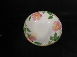 """Vintage Franciscan Dessert Rose 6"""" Cereal Soup Bowl Interpace USA - $7.92"""