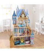 Girls Dollhouse Furniture Play Miniature Disney Princess Cinderella Roya... - $222.06