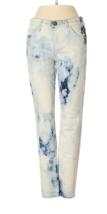 Current/Elliott Blue/White The Stiletto Indigo Summer Tie Dye Skinny Jea... - $98.01