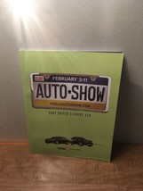 2007 Philadelphia Auto Show Program Book Catalog Buyer's Guide - $19.79