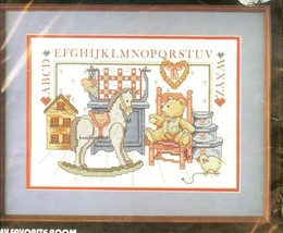 MY FAVORITE ROOM Stamped Cross Stitch Kit Dimensions #3098 by Barbara Mo... - $29.47