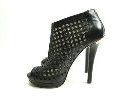 Michael Kors Womens Peep Toe Stilettos Platforms With Cutouts Size US 6 M image 4