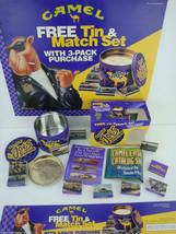 Vintage 1994 Joe Camel Smokin' Joe's Racing Matchbox Tin W Ashtray. New In Box - $6.88
