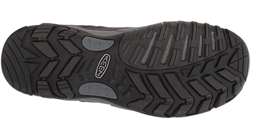 Keen Saltzman Size 9 M (D) EU 42 Men's Waterproof Trail Hiking Shoes Black/Raven image 6
