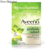 AVEENO Active Naturals Radiant Overnight Hydrating Facial Moisturizer 1.... - $27.25