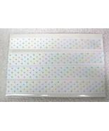 "2 Yards Pastel Color Morex Dots Double Face Satin Ribbon 5/8"" Width - $6.44"