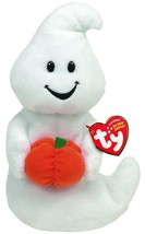 Ty Beanie Baby Spooky Ghost with Pumpkin - $19.34
