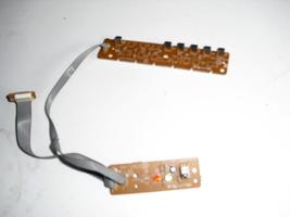 ba94f0f0103 1  -b    key  board and  ir  sensor   for  magnavox   32mf339/f7 - $6.99