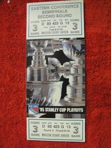 NY Rangers 1995 Stanley Cup Playoffs Semi 2nd Round Game 3 Ticket Stub MSG - $7.91