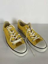 Yellow Converse Low Top Sneakers Men's 8 Women's 10 Trendy Bright Sneake... - $39.59