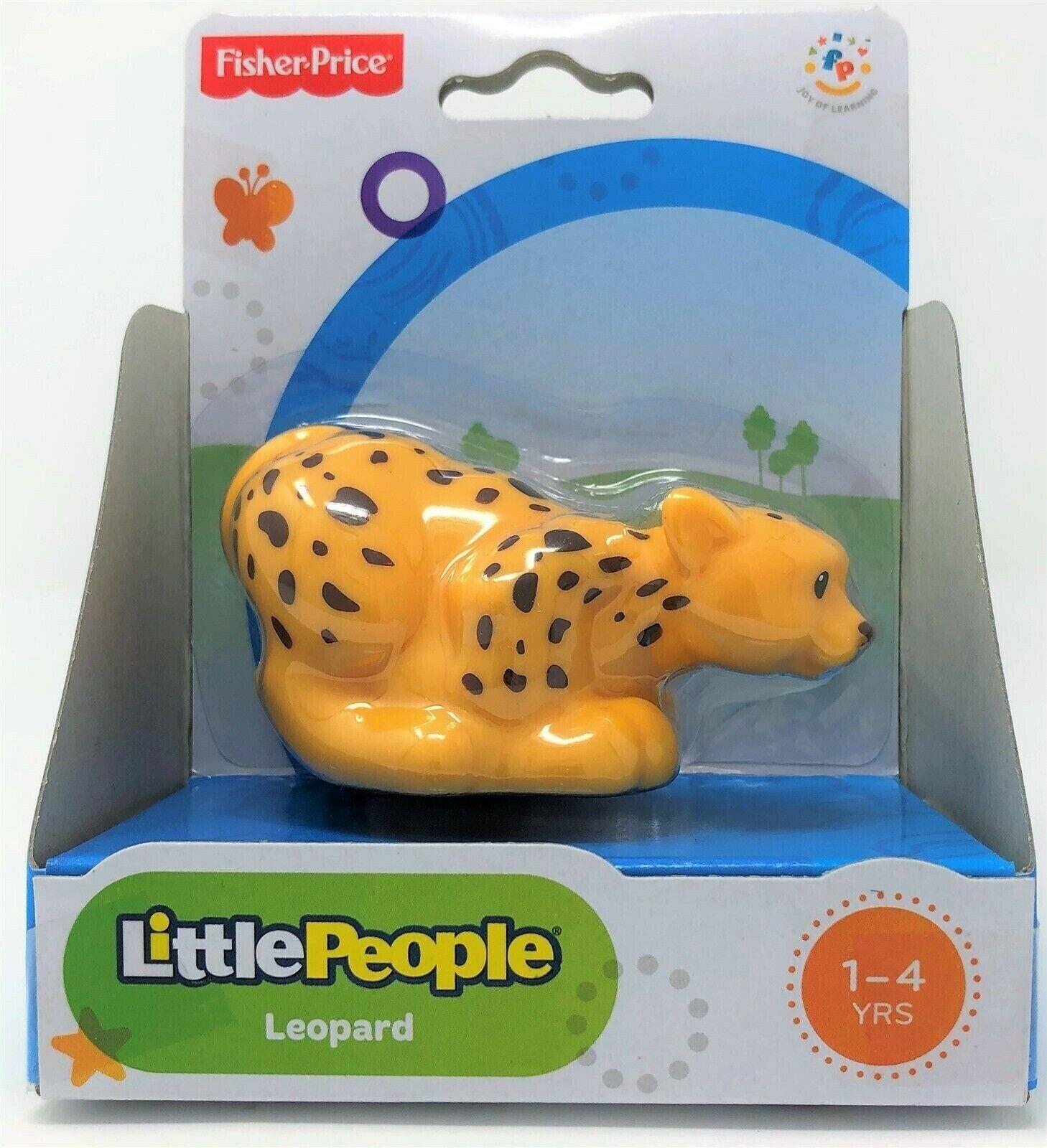 Fisher-Price Little People Leopard Animal Zoo Wildlife Safari Figure Toy