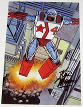 1988 Kevin Maguire SIGNED JLA Justice League Art Post Card ~ Rocket Red - $7.91