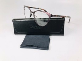 New Calvin Klein Collection CK7390 611 Burgundy Eyeglasses 53mm with Case - $59.35