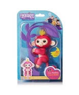 Fingerlings Interactive Baby Monkey Bella Pink w/ Yellow Hair - $12.99