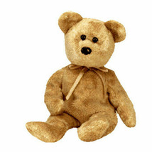 TY Cashew Beanie Baby Bear MWMT 6th Gen Retired with Tag Protector - $4.27