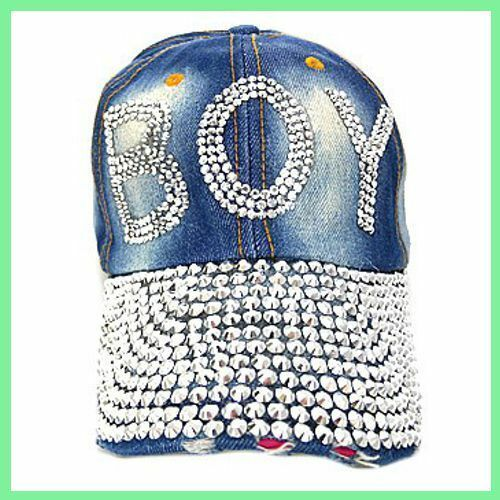 BOY BLING Ball Cap Denim NEW