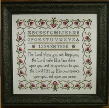 The Aaronic Blessing cross stich chart Stitches Through Time  - $10.80